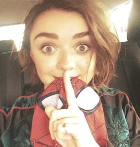 maisie williams instagram photo