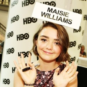 maisie williams twitter profile pic